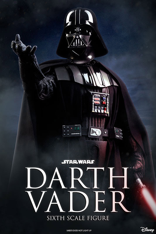 Star Wars ROTJ Darth Vader 1/6 Scale Figure