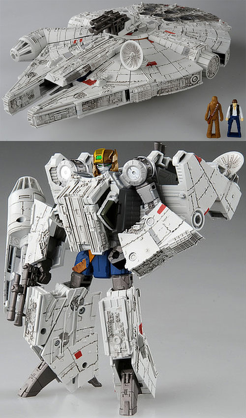 Star Wars Transformers Millennium Falcon by Takara Tomy