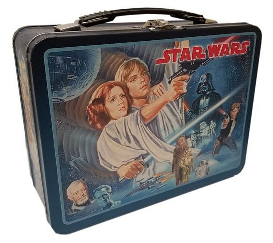 Star Wars 1977 XL Tin Tote Lunch Box