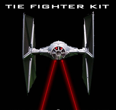 Star Wars Tie Fighter 1/72 Scale Lighting Kit for Finemolds or AMT