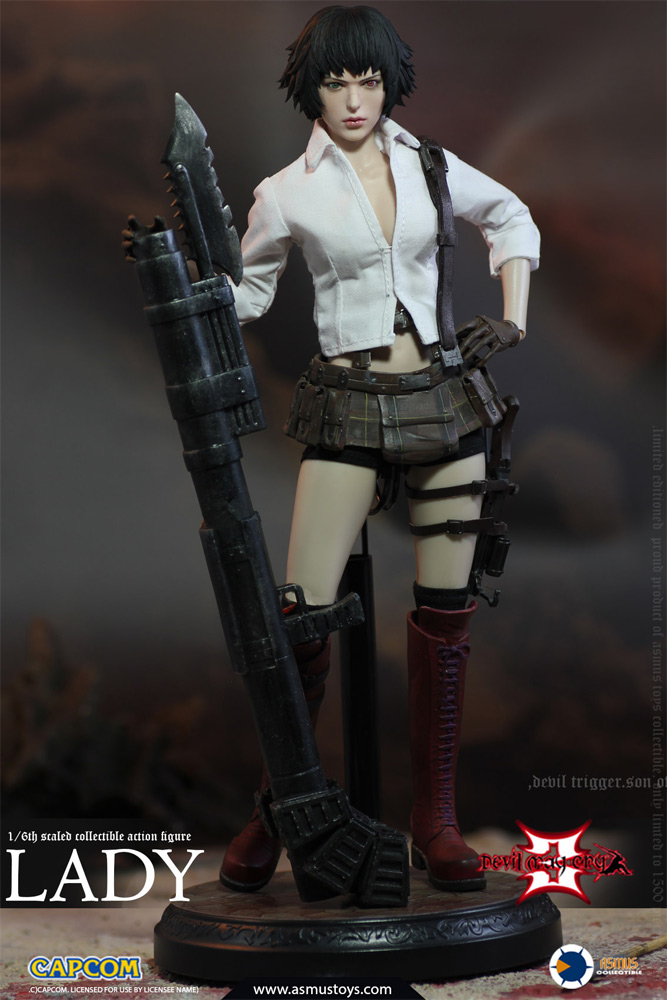 Devil May Cry Video Game Lady 1/6 Scale Figure by Asmus
