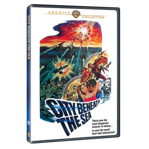 City Beneath The Sea 1971 TV Movie DVD Irwin Allen