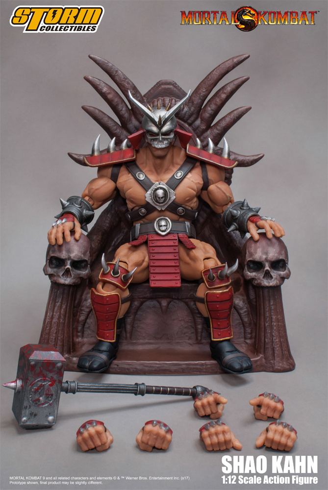 Mortal Combat Shao Kahn 1/12 Scale Figure by Storm
