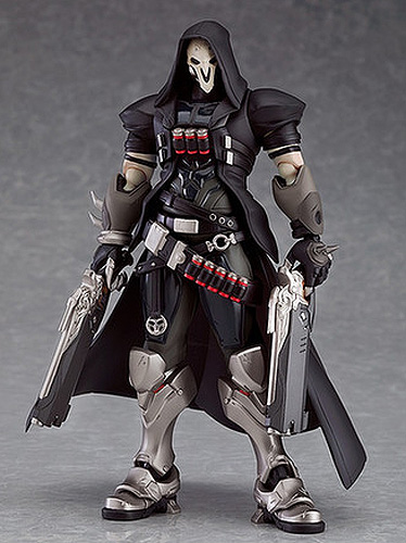 "Overwatch Video Game Reaper Figma 6.5"" Action Figure from Japan"