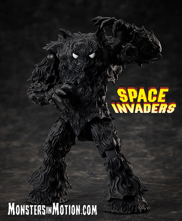 Space Invaders Video Game Monster Figma Figure from Japan