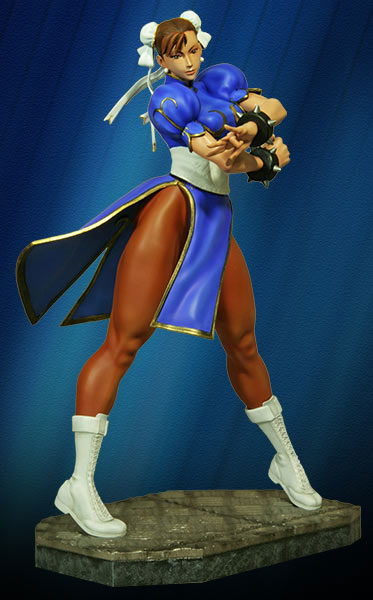 Street Fighter II Chun-Li 1/4 Scale Figure Statue Limited Edition of 500