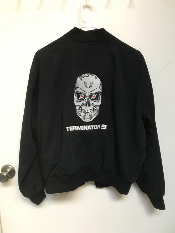 Terminator 3 Rise Of The Machines Crew Jacket