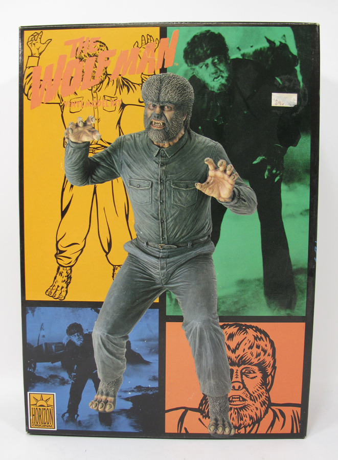 Wolfman Lon Chaney Jr. Original Horizon 1/6 Scale Vinyl Model Kit
