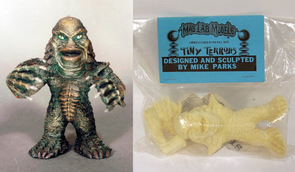 Creature from the Black Lagoon Tiny Terrors Model Kit by Mad Labs Mike Parks