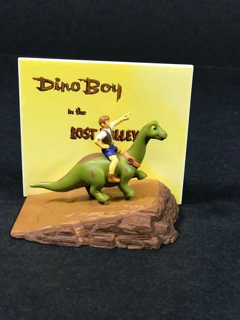Dino Boy In Lost Valley Japanese figure SUPER RARE W/ Mystery Bonus CD