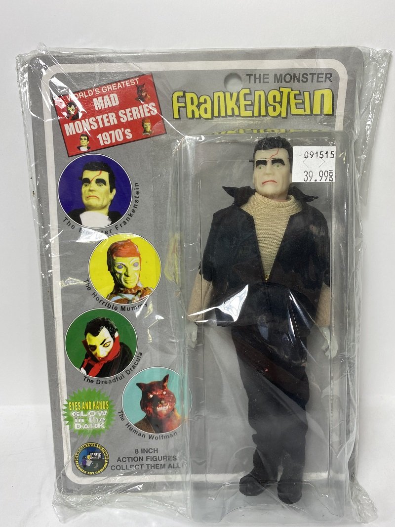 "Frankenstein The Monster 8"" Glow-in-the-Dark Retro Style Action Figure"