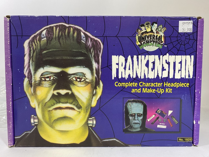 1994 Rubies Frankenstein Complete Character Headpiece and Make-Up Kit