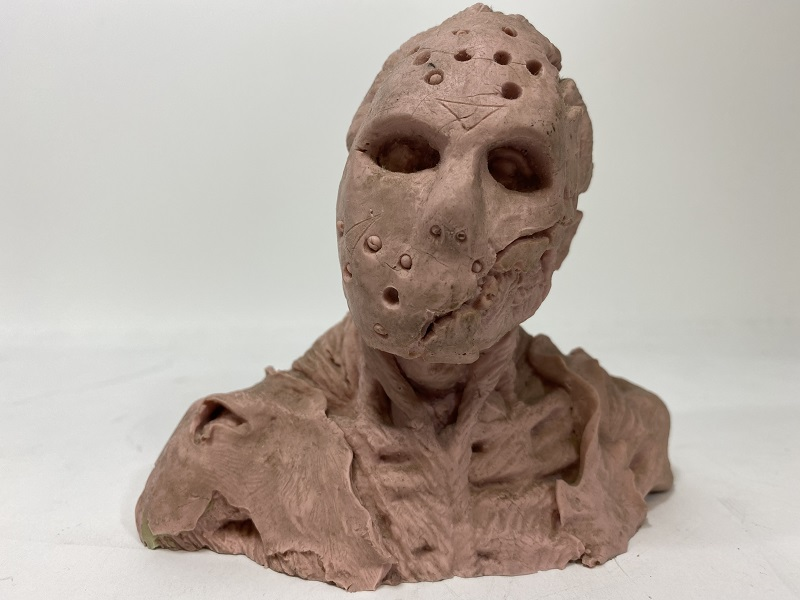 Friday the 13th Jason Voorhees 1/4 Scale Rigid Silicon Rubber Bust FREE US SHIPPING