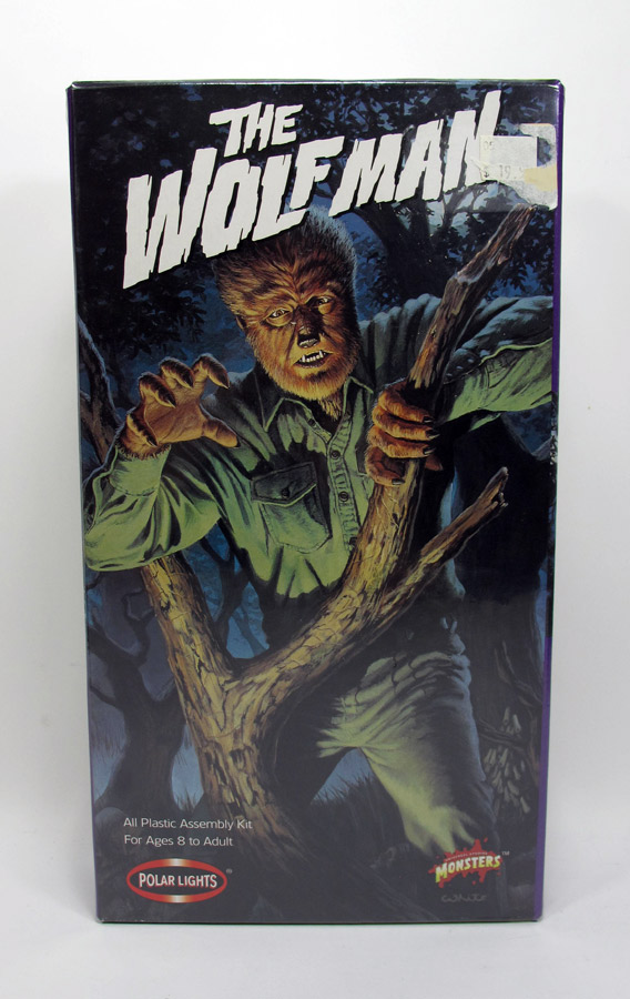 Wolfman Aurora Re-Issue Model Kit by Polar Lights