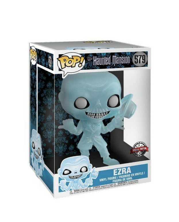 Haunted Mansion Hitchhiking Ghost 50th 10 Inch Ezra Funko POP