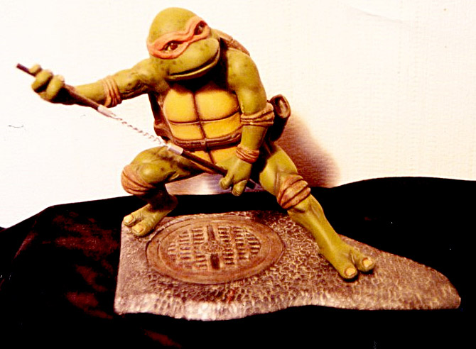 Ninja Turtle Model Kit by Mike Wowczuk