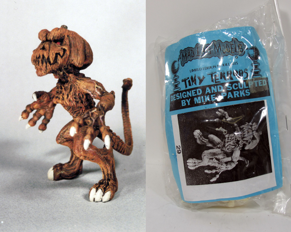 Pumpkinhead Tiny Terrors Model Kit by Mad Labs Mike Parks