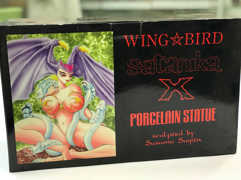 Satanika Winged Bird Verotik Prepaint Statue Danzig - Click Image to Close