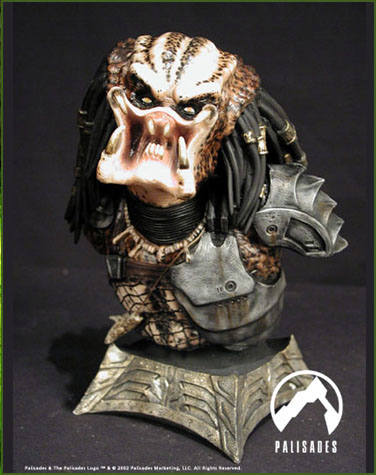 Predator Mini Bust Statue by Palisades - Click Image to Close