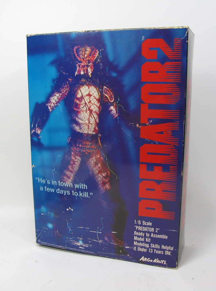 Predator 2 Original Argonauts 1/6 Scale Vinyl Model Kit