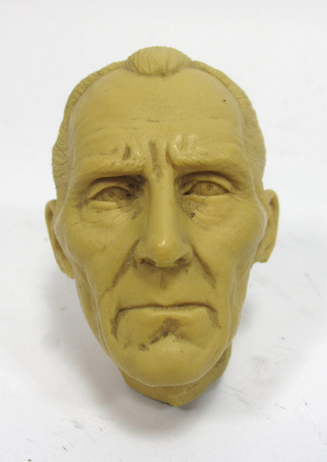 Peter Cushing 1/6 Scale Resin Head Sculpt