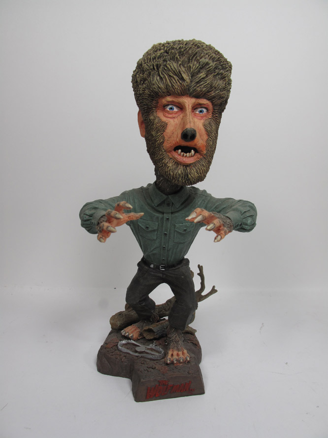 Wolfman Head Knocker Toy Universal Monsters Wolf Man