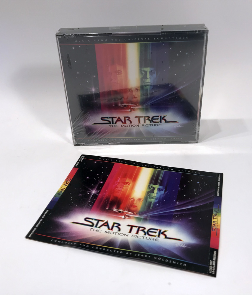 Star Trek The Motion Picture Soundtrack 3CD Set Jerry Goldsmith VERY RARE