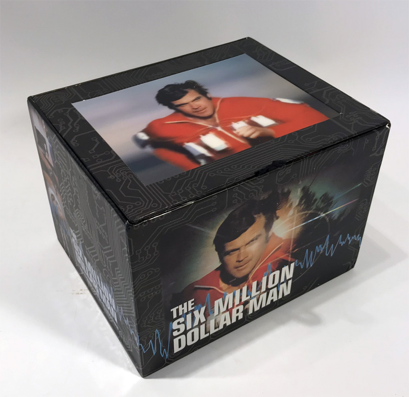 Six Million Dollar Man Complete Series Lenticular Box Set DVD Time Life ULTRA RARE!