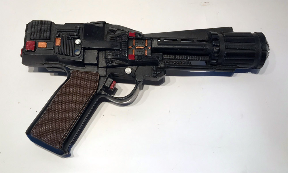 Battlestar Galactica The Second Coming Blaster Screen Used Prop