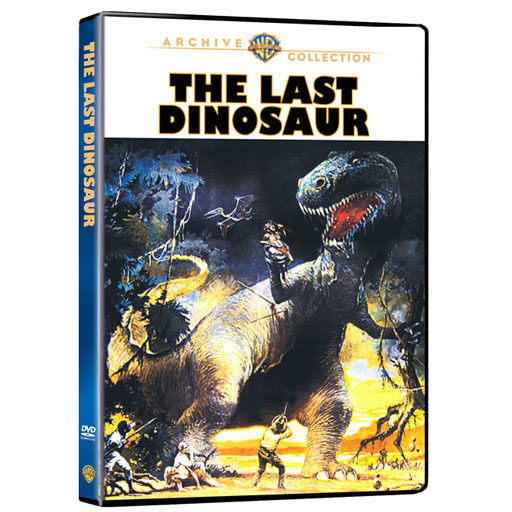 Last Dinosaur, The Widescreen DVD