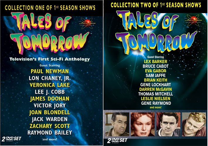 Tales of Tomorrow Collection 1 & 2 DVD 4 Disc Set