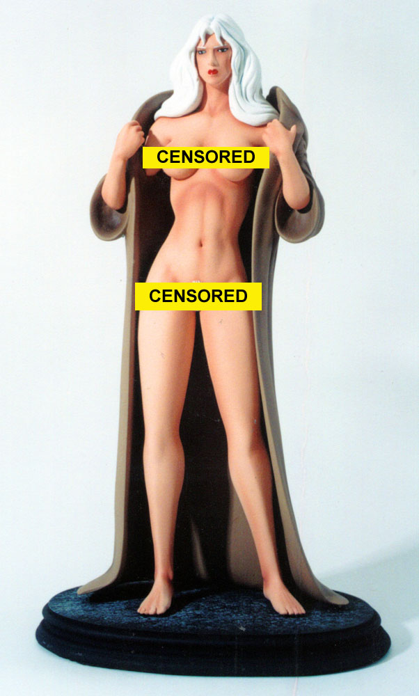 Taarna the Avenger Nude With Robe 1/6 Scale Resin Model Kit