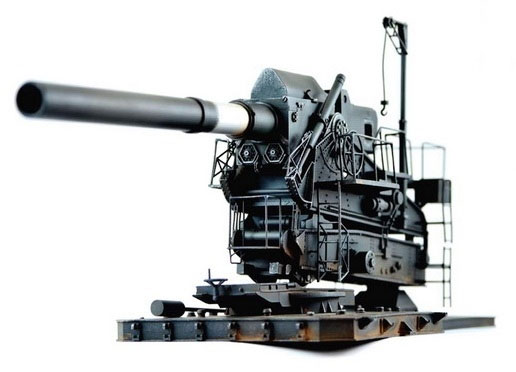 Howitzer Cannon M1 Super Heavy Version 1/35 Scale Model Kit