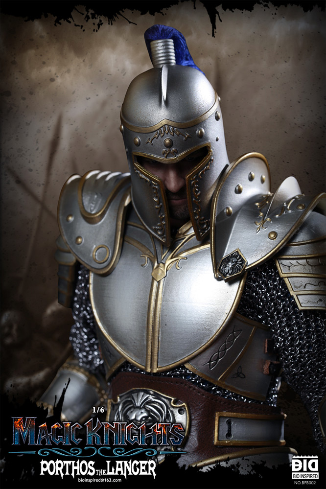 Magic Knights Porthos the Lancer 1/6 Scale Figure by Bio Inspired