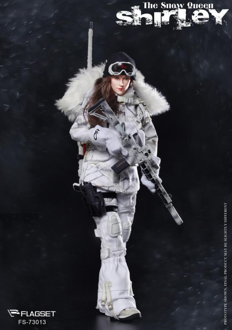 Snow Queen Shirley Soldier 1/6 Scale Figure by Flagset