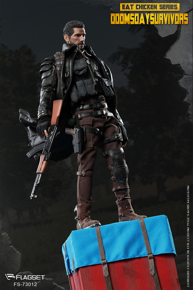 Doomsday Survivor Soldier 1/6 Scale Figure by Flagset