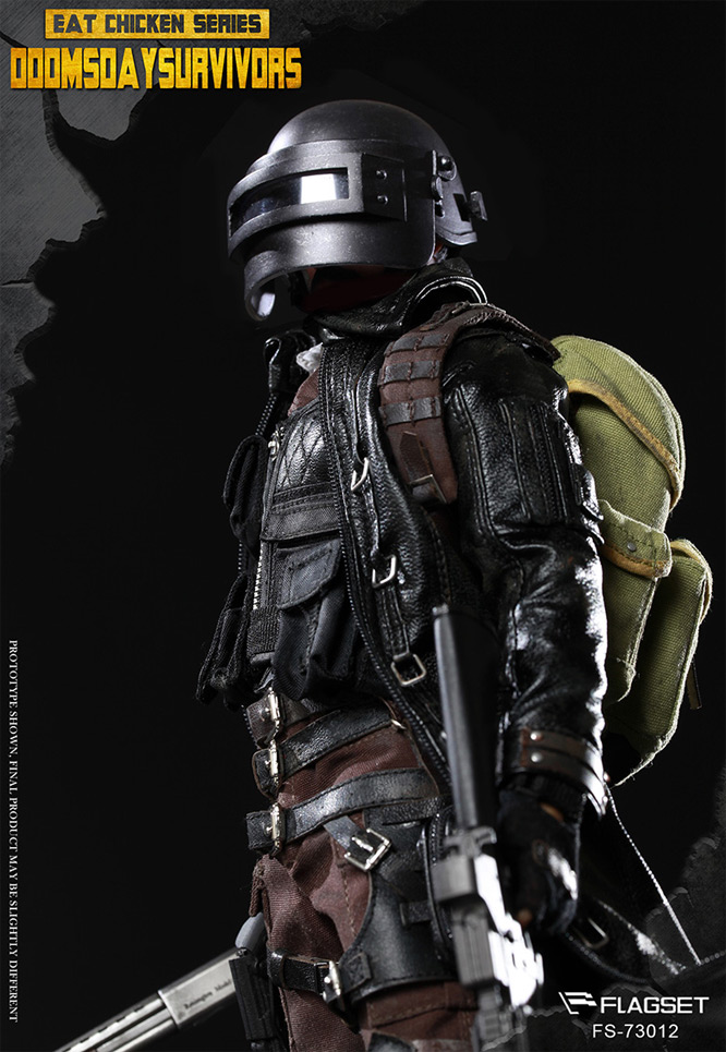 Doomsday Survivor Soldier 1/6 Scale Figure by Flagset - Click Image to Close