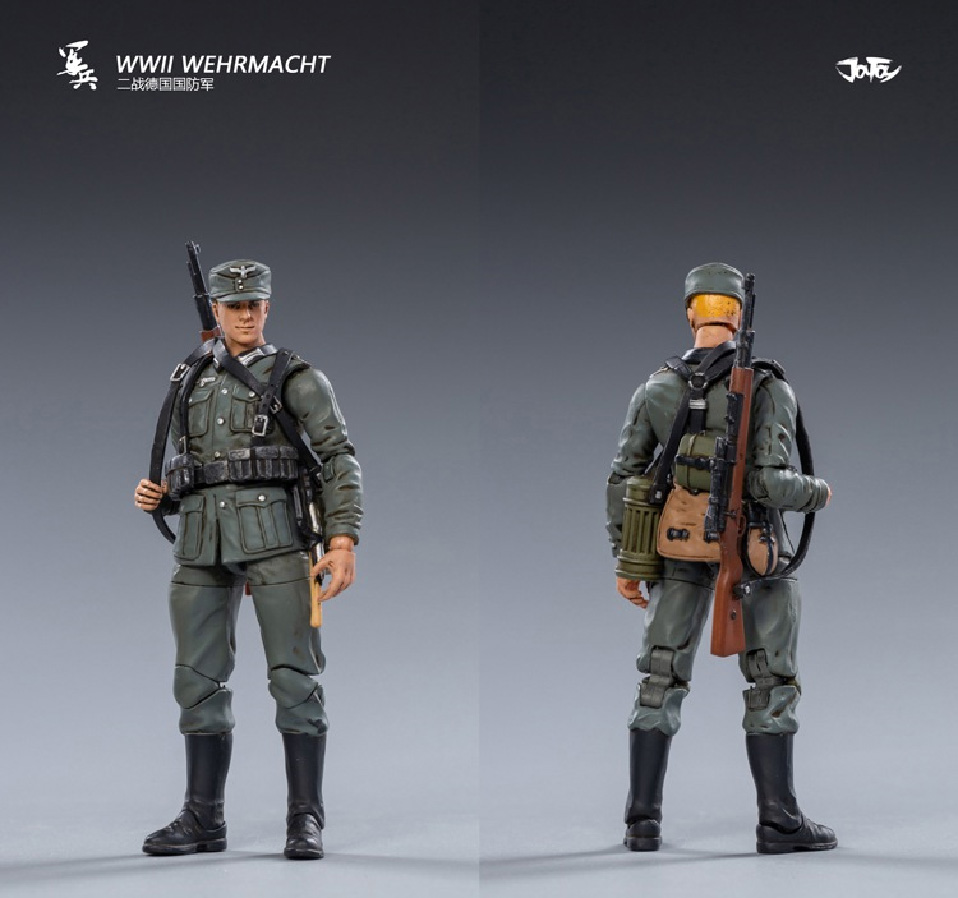 WWII German Wehrmacht Soldiers 1/18 Scale Set of 5 Figures