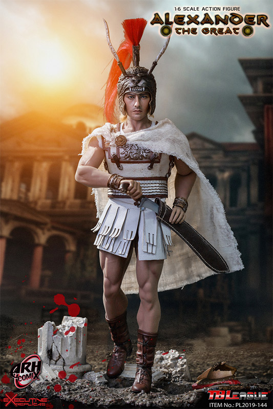 Alexander the Great 1/6 Scale Figure by TBLeague