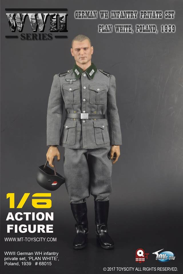 Wwii German Infantry Private 1 6 Scale Figure Accessory Set By