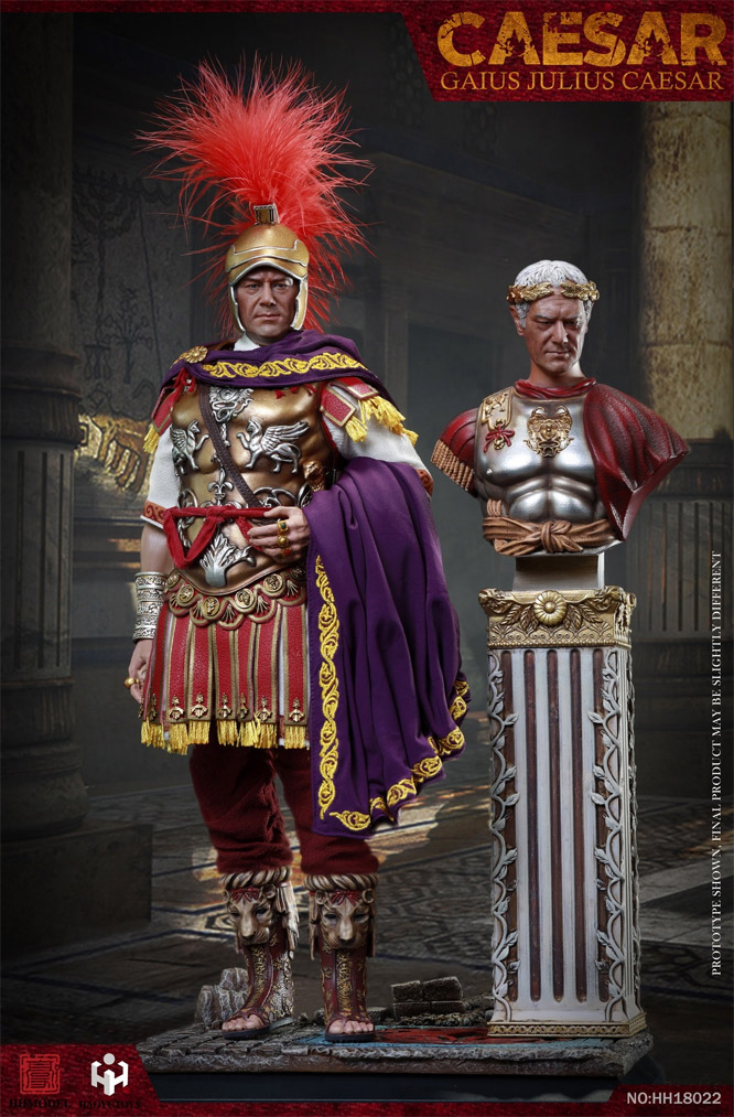 Julius Caesar Deluxe 1/6 Scale Figure with Bust and Base