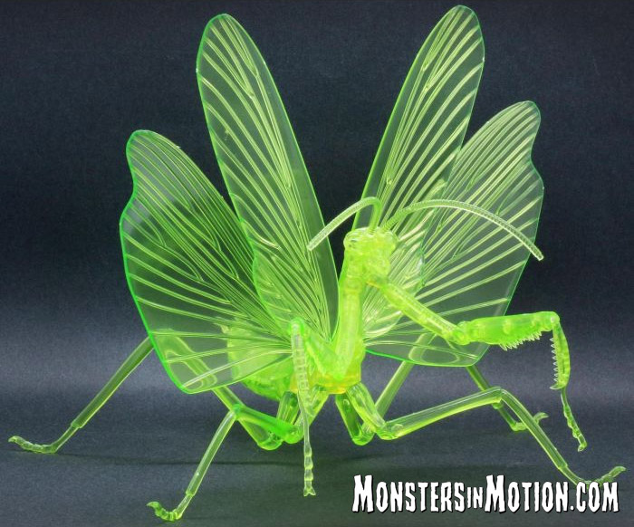 Japanese Giant Mantis Clear Green Model Kit by Fujimi