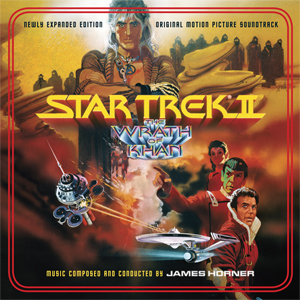 Star Trek II: The Wrath of KhanSoundtrack CD James Horner