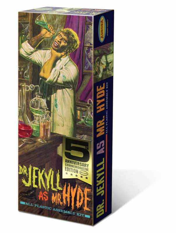 Dr. Jekyll As Mr Hyde Injected Plastic Kit
