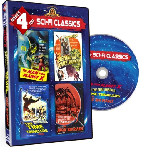Movies 4 You - Sci Fi Classics (MGM films)-Man from Planet X, Beyond the Time Barrier, The Time Travelers, The Angry Red Planet