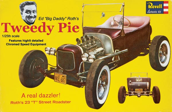 "Ed Roth ""Tweedy Pie"" 1:25 Scale Plastic Model Kit"