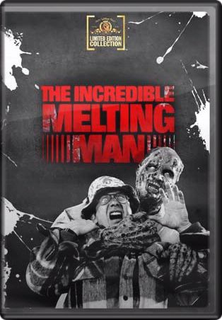 Incredible Melting Man 1977 Widescreen DVD