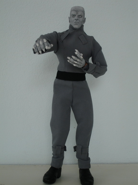 "The Thing From Another World 12"" Figure-BLACK & WHITE"