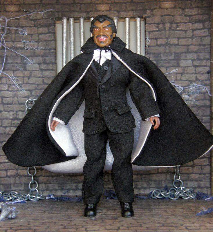 "Blacula 8"" Retro Mego Style Figure Limited to 50"