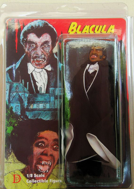 "Blacula 8"" Retro Mego Style Figure Limited to 50 - Click Image to Close"